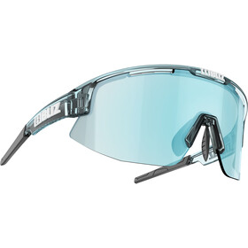 Bliz Matrix M12 Bril, transparent ice blue/smoke/ice blue multi